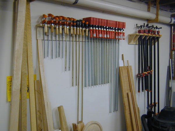 build clamp rack wood